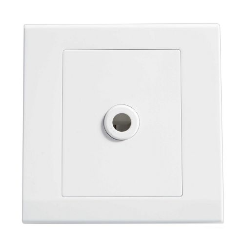 Simplicity White Screwless 25A Flex Outlet Socket 07780